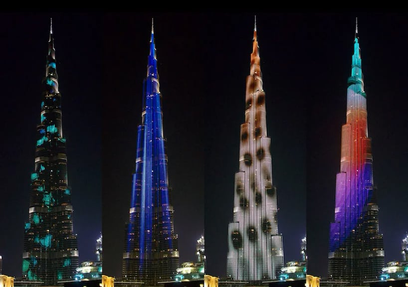 Dubai Tower Media facade