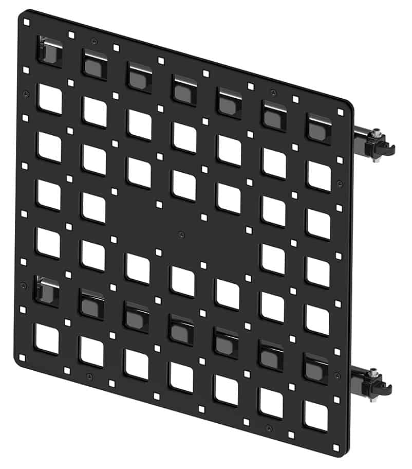 LED Grid Media Mesh