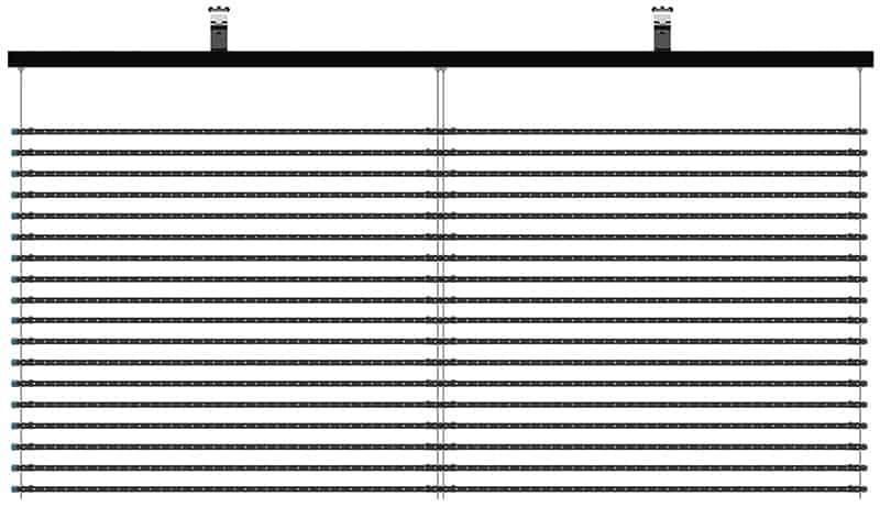 P2550 led facade
